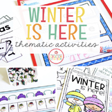 Winter: Preschool, Pre-K and Kindergarten Resources