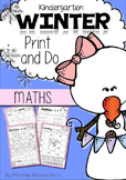 Winter Print & Do ~ Maths Printables