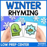 Winter Rhyming Game