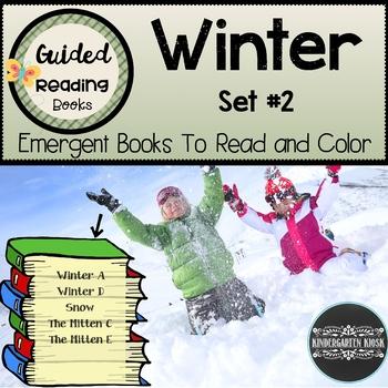 Winter Sight Word Readers: Set #2