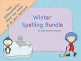 Winter Spelling Bundle