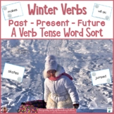 Winter Verbs -  Past, Present, and Future