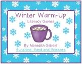 Winter Warm-Up Literacy Games