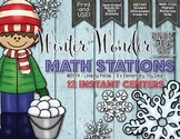 Winter Wonder Math Centers