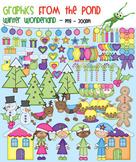 Winter Wonderland - Christmas Clipart Super Set for Teachers