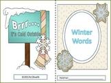 Winter Words Little Book