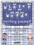 Winter Words Writing Pack!