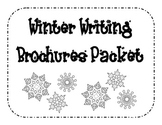 Winter Writing Brochure Packet