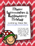 Winter Writing: Informative and Explanatory Writing