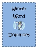 Winter word dominoes
