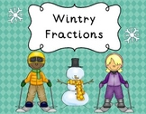 Wintry Fractions Math Center, Station, Tub