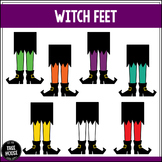 Witch Feet Clip Art