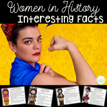 Women's History Interesting Information Poster Pack