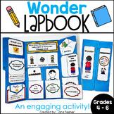 Wonder R.J. Palacio Lapbook