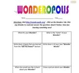 Wondering with Wonderopolis