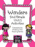 Wonders 2nd Grade Unit 1 Activities, Weeks 1-5