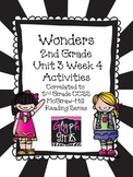 Wonders 2nd Grade Unit 3 Activities Week 4