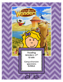 Wonders 3rd Grade Comprehension and Vocabulary Questions BUNDLE