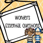 McGraw-Hill Wonders Essential Questions