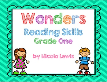 Wonders Reading Skills for First Grade with Common Core Alignment