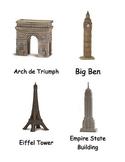 Around the World Wonders Cards