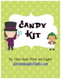 Wonka Candy Themed Kit