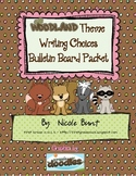 Woodland Writing Choice Board Packet