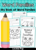 Word Families - CVC/CCVC My Book of Word Families
