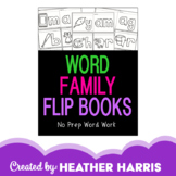 Word Family Flip Books