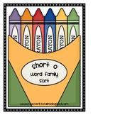 Word Family Sort- Short O