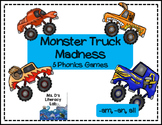 Word Family  {-all,-am,-an} {Monster Trucks}
