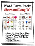 Word Parts Pack: Short and Long A