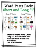 Word Parts Pack: Short and Long I