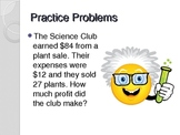 Word Problem Solving Skills