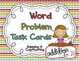 Word Problem Task Cards {Addition 1-20}