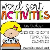 Word Sort Pack for any spelling program