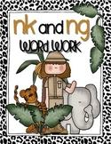 Word Sort: digraphs -ng and -nk