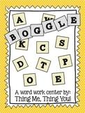 Word Study: Boggle!