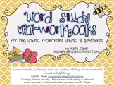 Word Study Mini-Books {Long vowels, Diphthongs, Bossy R, W
