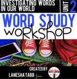 Word Study Workshop: Unit 2