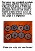 Word Wall Banner in Bright Green