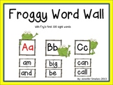 Word Wall: Froggy Theme