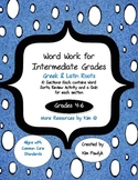 Word Work Book for Intermediate Grades (4-6) - Greek & Lat