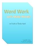 Word Work - Making Words
