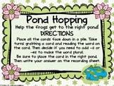 Word Work - Zaner Bloser - Pond Hopping Inflectional Endin