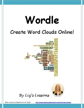 Wordle! Have your students create beautiful word clouds online!