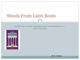 Words From Latin Roots