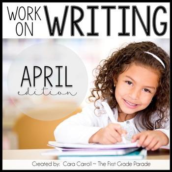 Work on Writing - April