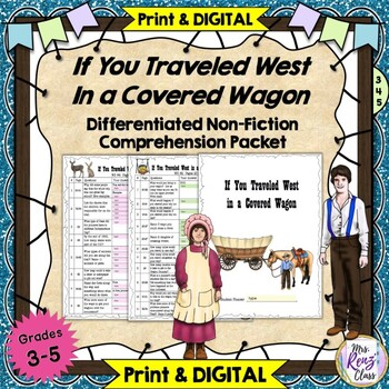 """If You Traveled West in a Covered Wagon"" Oregon Trail Wor"