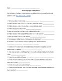 World Geography Scavenger Hunt & ANSWER KEY